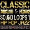 Classic PIANO,KEYS,RHODES WAV Sample Sound LOOPS 1 Hip Hop Jazz-Reason,Studio,Ableton,Mpc
