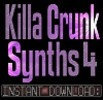 Hip Hop Crunk SYNTH,STAB,FX WAV Sample Sounds V4-Reason,Studio,Ableton,Logic,Mpc