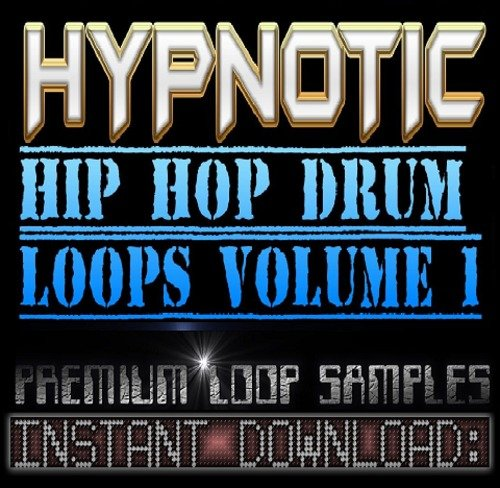 Product picture Hypnotic Hip Hop Soul DRUMS WAV Sample Sound LOOPS-Reason,Fl Studio,Ableton,Akai,Logic