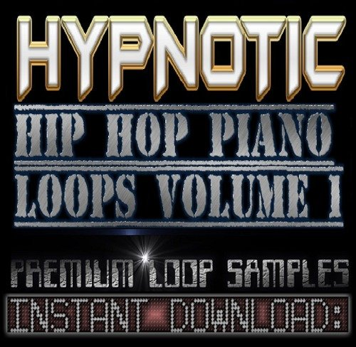 Product picture Hypnotic Hip Hop Soul PIANO WAV Sample Sound LOOPS-Reason,Fl Studio,Ableton,Akai,Logic