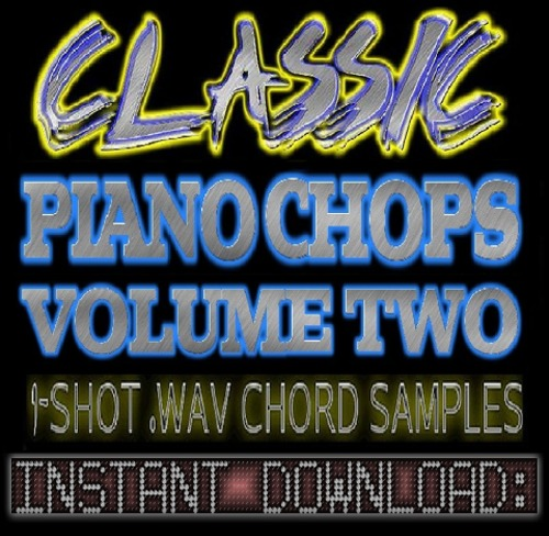 Product picture Classic Hip Hop Jazz PIANO CHOPS WAV Sample Sounds V.2-Reason,Studio,Ableton,Logic,Akai