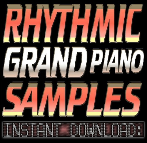 Product picture Rhythmic Ballad & RnB GRAND PIANO WAV Sample Sound CHOPS-Reason,Studio,Ableton,Logic,Akai